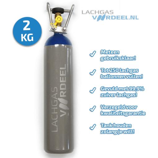 lachgas fles 2kg